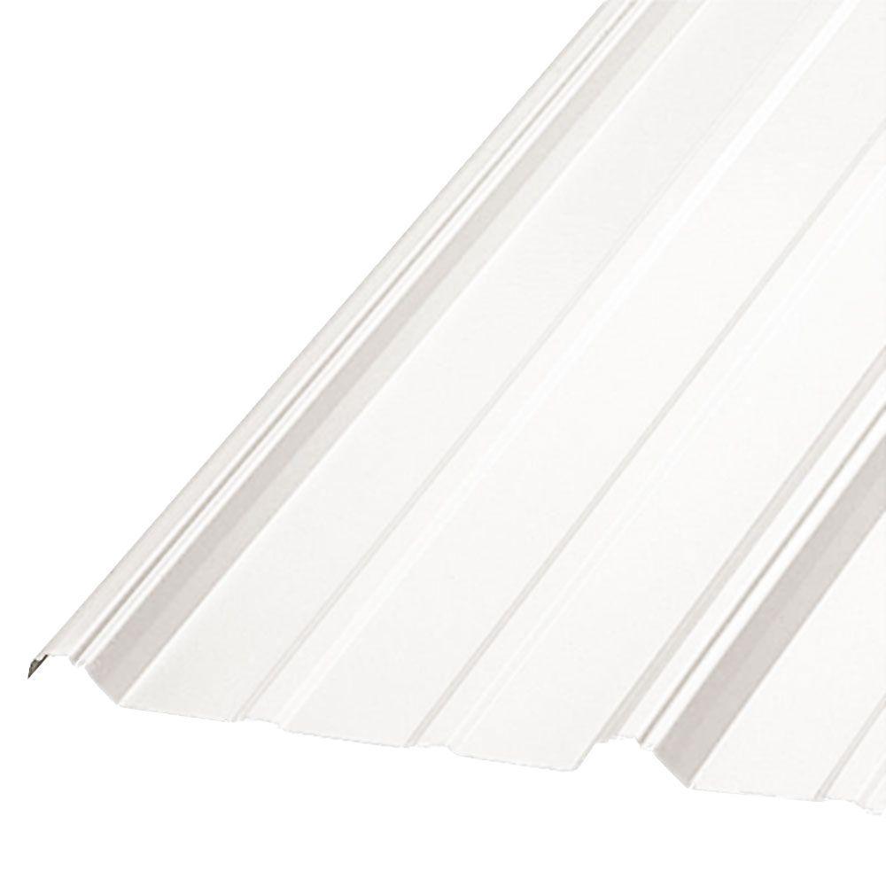 36 in. x 10 ft. Galvanized Steel Roof Panel