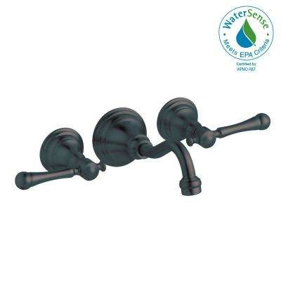 Bridgeford 2-Handle Wall Mount Roman Bathtub Faucet Trim Kit in Oil Rubbed Bronze (Valve and Handles Not Included)