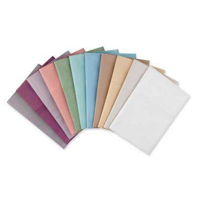 Williamsburg 400-Thread-Count 6-Piece Berry Cotton Sateen Full Sheet Set