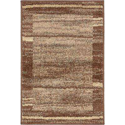 Autumn Foilage Brown 2' 0 x 3' 0 Area Rug