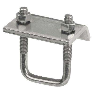 1-1/2 in. Channel to Beam Clamp - Silver Galvanized