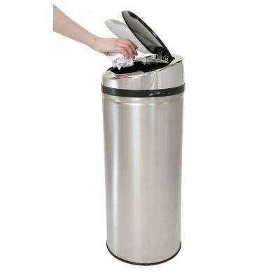42 l Stainless Steel Motion Sensing Touchless Trash Can