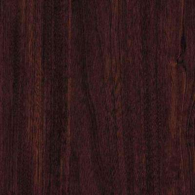 3 in. x 5 in. Laminate Countertop Sample in Cocobala with Premium Textured Gloss Finish