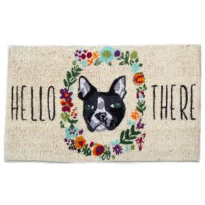 Tag Hello There Dog 18 In X 30 In Coir Door Mat