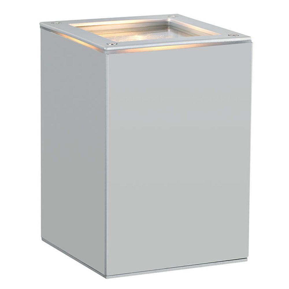 Tabo 1-Light Silver Outdoor Wall Light