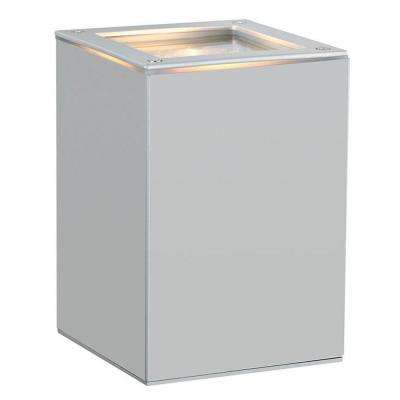 Tabo 1-Light Silver Outdoor Wall Light