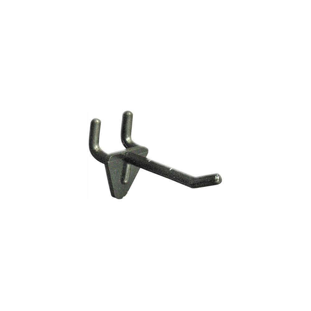 2 in. Black Glass-Filled Nylon Hook (Pack of 50)
