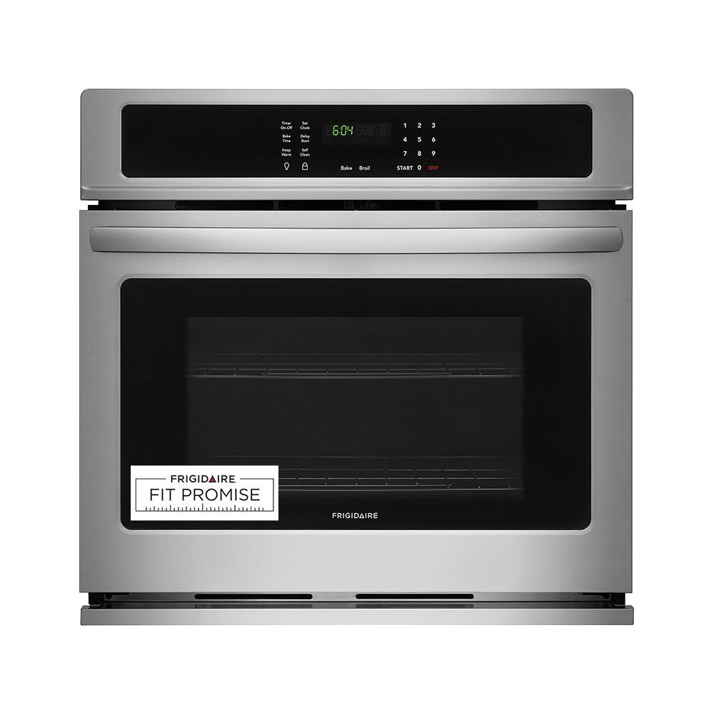 Frigidaire 30 in. Single Electric wall Oven Self-Cleaning in Stainless Steel