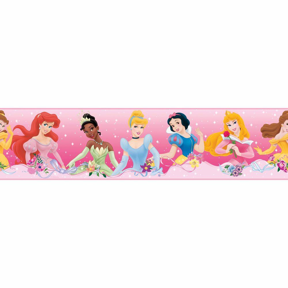 RoomMates Disney Princess Dream From the Heart Peel and Stick Wallpaper Border