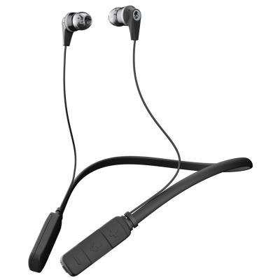Ink'd Bluetooth Wireless Earbuds with Mic in Black/Gray