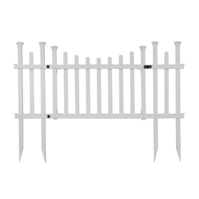 5.2 ft. x 2.5 ft. White Vinyl Madison Fence Gate
