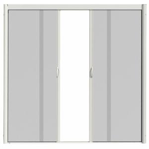 Visiscreen 72 in x 84 in vs1 white retractable screen for 48 inch retractable screen door