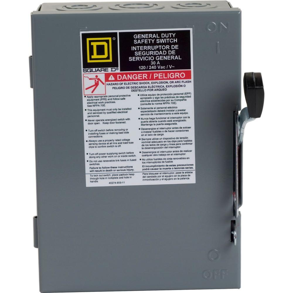 square d safety switches d221ncp 64_1000 square d 30 amp 240 volt 2 pole indoor general duty fusible safety  at edmiracle.co