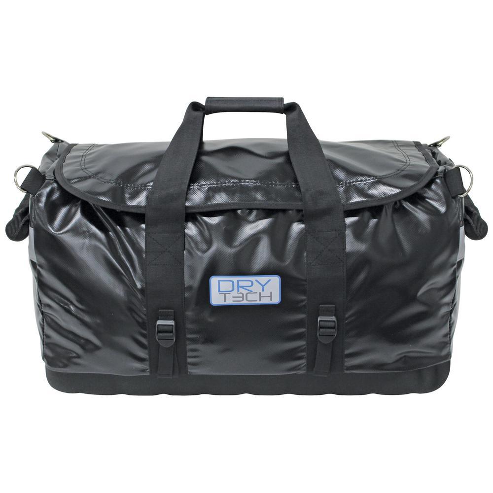26.5 l Dry Tec Water-Repellent Zippered Duffel Bag, Small in Black