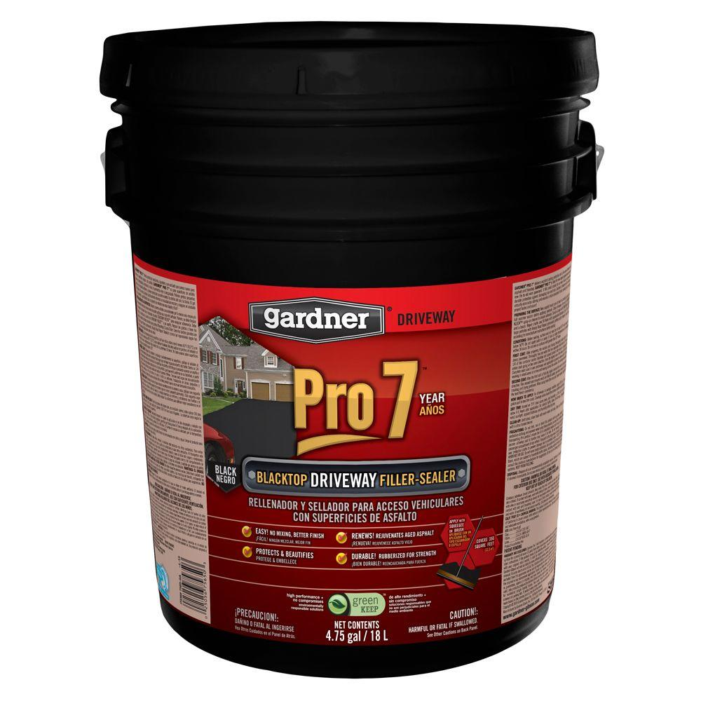 Gardner 4.75 Gal. Pro 7 Blacktop Gel Filler Sealer