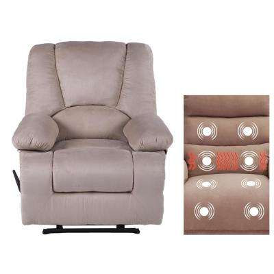 Calla Casa Series Oversize Massage Recliner with Heat, Massage Storage, USB Ports and Remote