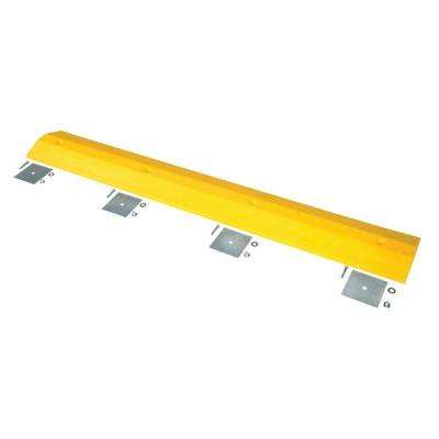72 in. x 10 in. x 2 in. Recycled Plastic Speed Bump with Glue Down Kit