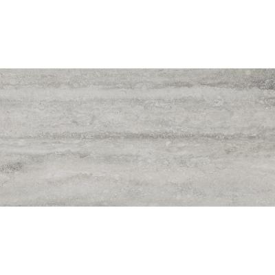Trevi Gray 12 in. x 24 in. Matte Porcelain Floor and Wall Tile (16 sq. ft. / case)