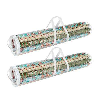 Wrapping Paper and Gift Wrap Storage Bag for 40 in. Rolls (2-Pack)