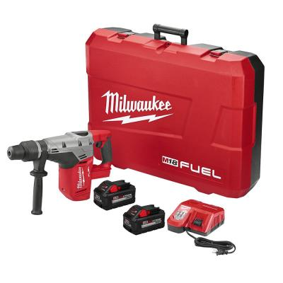 M18 FUEL 18-Volt Lithium-Ion Brushless Cordless 1-9/16 in. SDS-Max Rotary Hammer Kit with(2) 8.0Ah Batteries & Hard Case