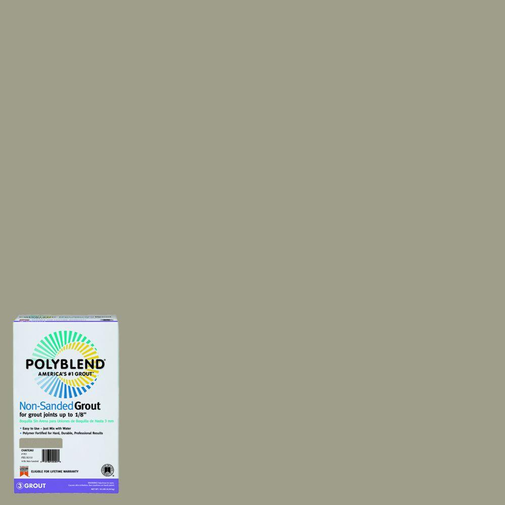 Custom Building Products Polyblend #183 Chateau 10 lb. Non-Sanded Grout