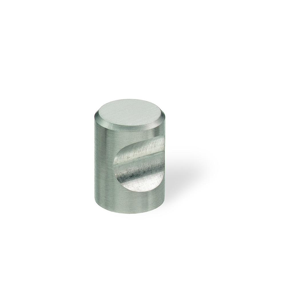 Superbe Brushed Stainless Steel Cabinet Knob 51120   The Home Depot