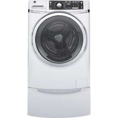 4.9 cu. ft. High-Efficiency Stackable White Front Loading Washing Machine with Steam, ENERGY STAR