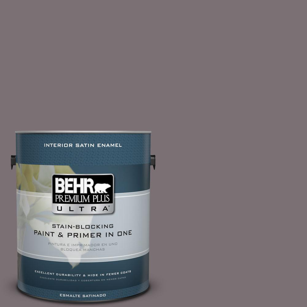 Home Decorators Collection 1-gal. #HDC-AC-27 Heather Sachet Satin Enamel