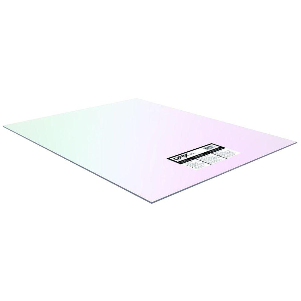 OPTIX 30 in. x 36 in. Acrylic Sheet