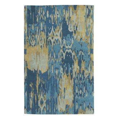 Matira Blue 8 ft. x 11 ft. Area Rug
