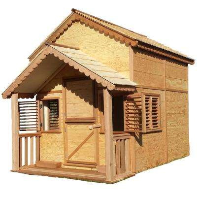 10 ft. x 6 ft. Little Alexandra Cottage with Loft and Covered Front Porch