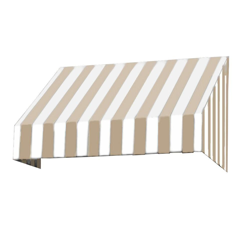 AWNTECH 4.375 ft. San Francisco Window/Entry Awning (18 in. H x 36 in. D) in Terra Cotta