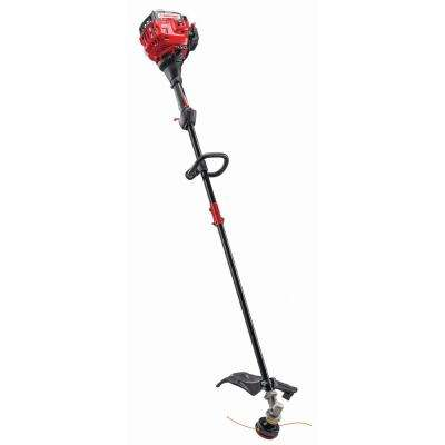 25 cc 2-Cycle Straight Shaft Attachment Capable Gas Trimmer with JumpStart Capabilities