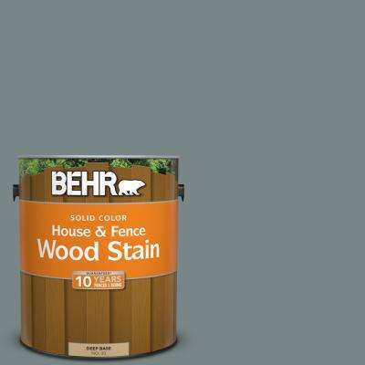 1 gal. #730F-5 Nature Retreat Solid Color House and Fence Exterior Wood Stain