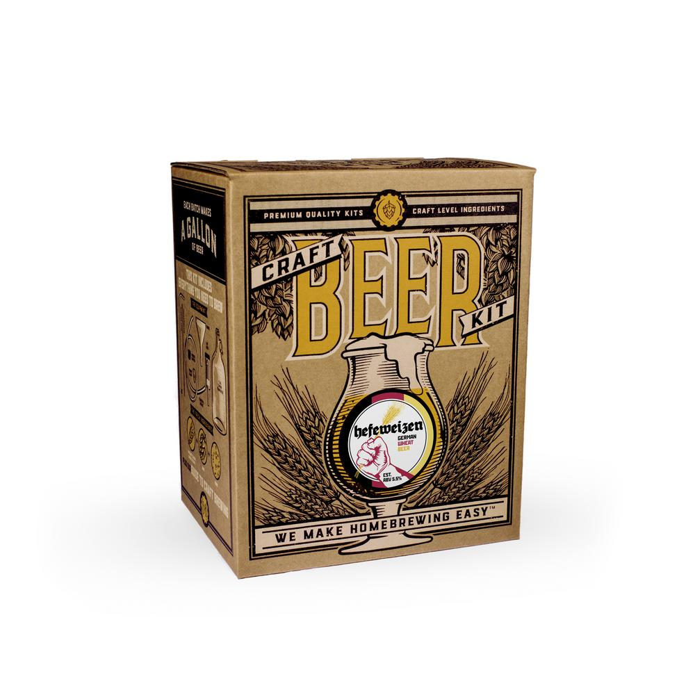 Beer Brewing Kit in Hefeweizen