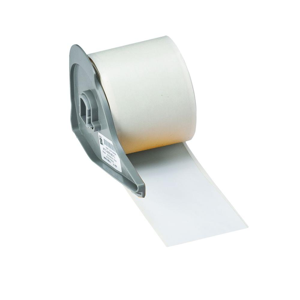 Brady BMP71 B-595 2 in. x 50 ft. Indoor/Outdoor White Tape