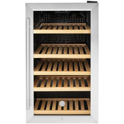 31-Bottle Beverage Cooler in Stainless Steel