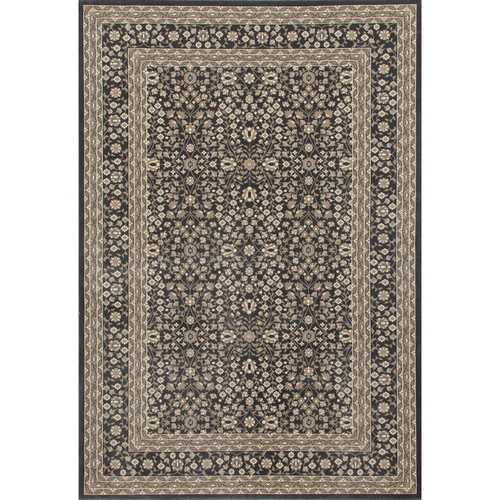 Art Carpet Kensington Microfloral Gray 8 ft. x 11 ft. Area Rug
