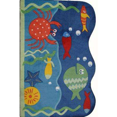 Supreme Under World Multi Colored 39 in. x 58 in. Area Rug