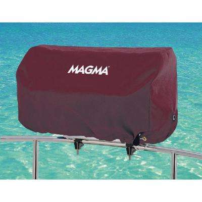 Rectangular 12 in. x 24. in Grill Cover for Catalina Grill, Color: Burgundy