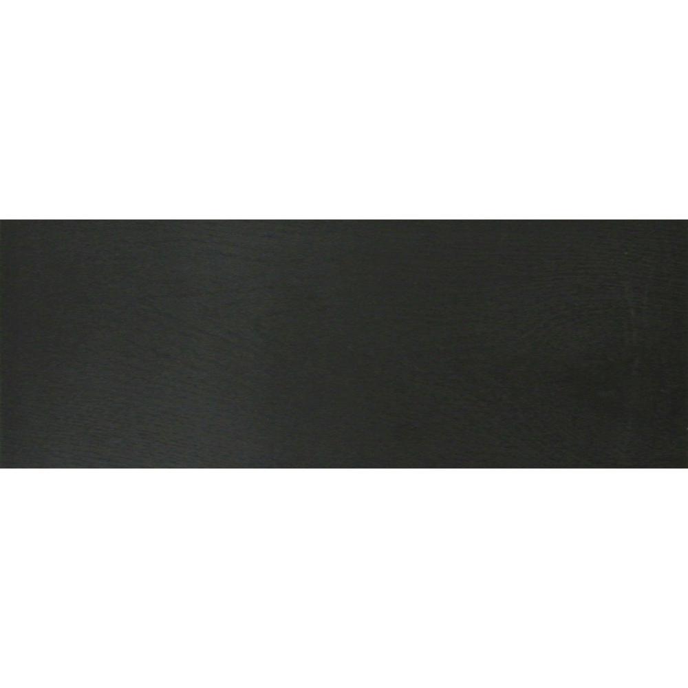1/4 in. x 5.1 in. x 6.5 in. Black Iron Wall