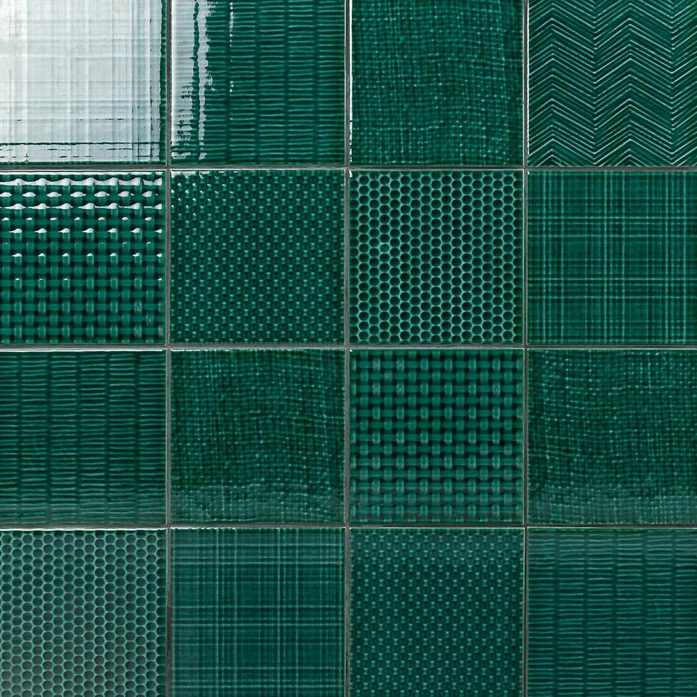 Ivy Hill Tile Oakland Decor Dark Green