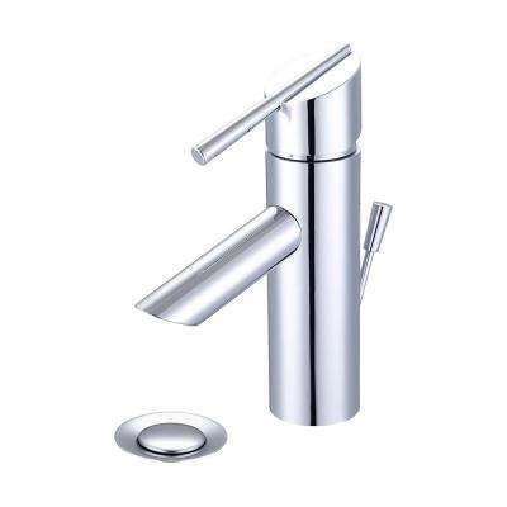 i2v Single Hole Single-Handle Bathroom Faucet in Polished Chrome