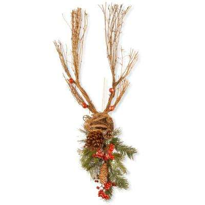 35 in. Christmas Deer Decoration