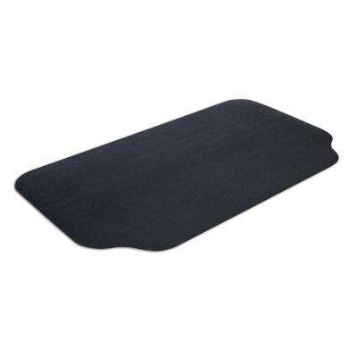 36 in. x 63 in. Black Under-the-Grill Protective Deck and Patio Mat