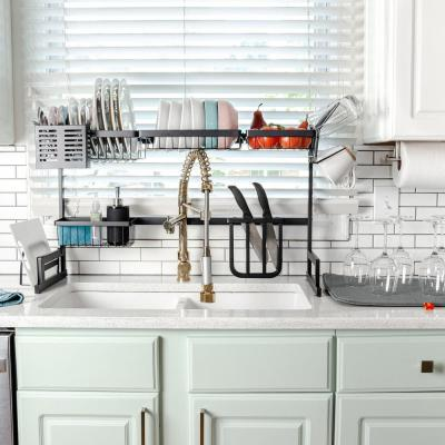 Dish Racks Kitchen Sink Organizers The Home Depot