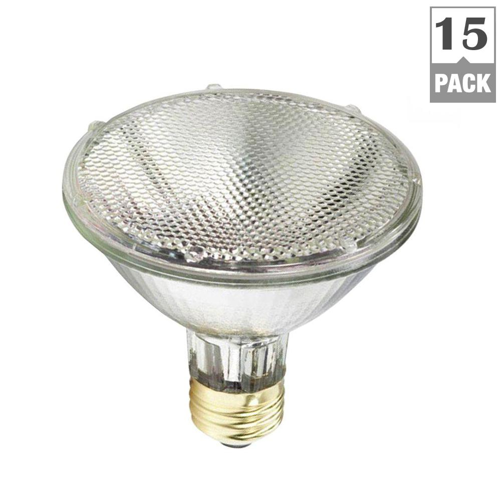 75-Watt Equivalent PAR30S Halogen Energy Advantage Flood Light Bulb (15-Pack)