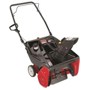 Yard Machines 21 inch 179 cc Single-Stage Electric Start Gas Snow Blower by Yard Machines