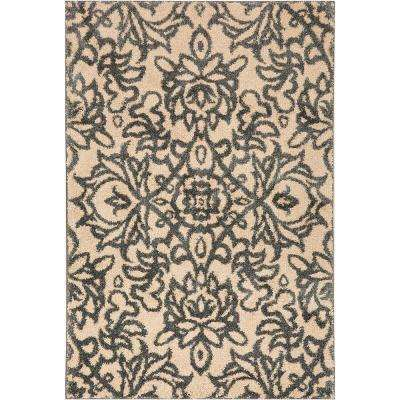 Spokane Abyss Blue 10 ft. x 14 ft. Indoor Area Rug