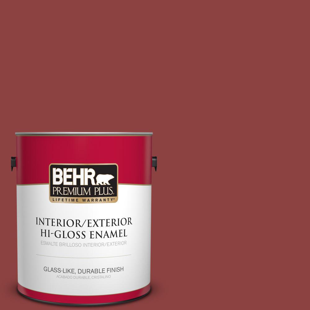 1 gal. #PPU2-03 Allure Hi-Gloss Enamel Interior/Exterior Paint